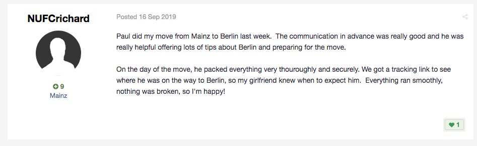 Gentleman With Van Berlin review